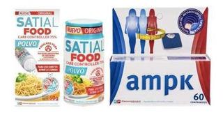 Combo Adelgazante! Satial Food + Ampk X 60 Comp Original