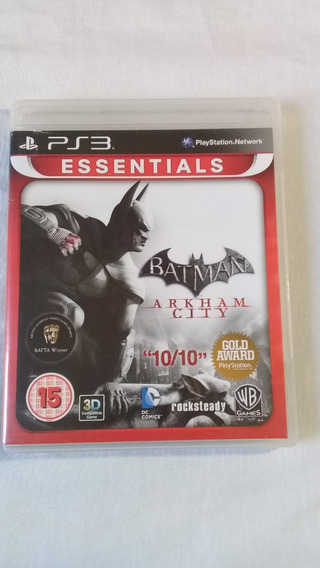 Batman Arkham City Ps3 Original Completo