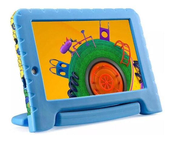 Tablet Multilaser Discovery Kids Plus 16gb Azul Nb309 7