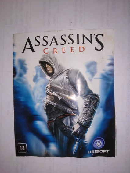 Playstation 3 - Manual Original Assassins Creed