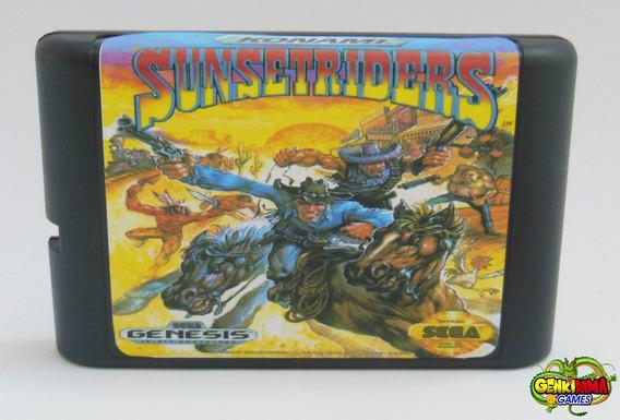 Sunset Riders Mega Drive Novo