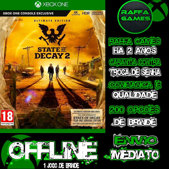 State Of Decay 2 Supreme Edition Xbox One Offline + Brinde