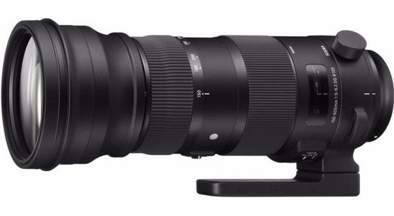 Sigma 150-600mm F/5-6.3 Dg Os Hsm Sports P/ Canon + Monopé