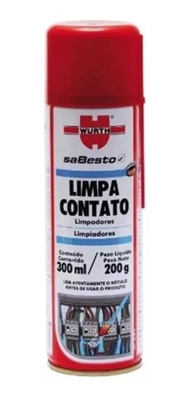 Limpa Contato Wurth 300ml - Limpador De Contatos Elétricos