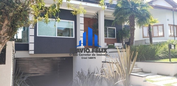 Casa Com 4 Suites E Área Gourmet Condominio Aruja 5 - 499