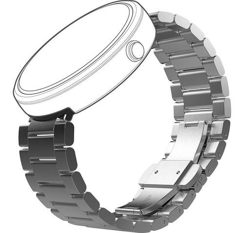 Imagen 1 de 6 de Correa Metal Original Genuine Motorola Moto 360 Smartwatch