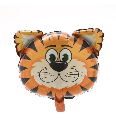 Globo Metalizado Tigre Selva 18 Pulgadas