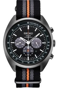 Relógio Seiko Recraft Solar Chronograph Nylon Ssc669