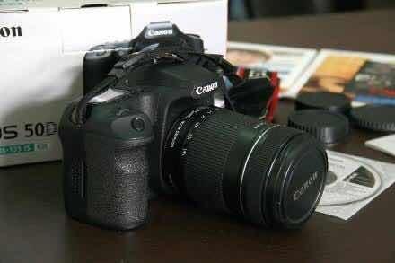 Câmera Canon 50d + Combo