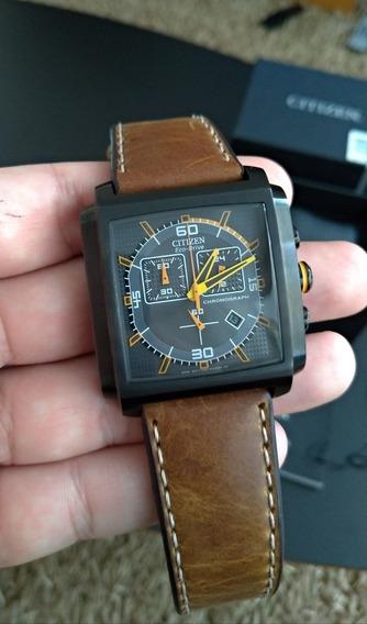 Relógio Citizen Eco Drive Cronógrafo At2217-01h / Tz30115d