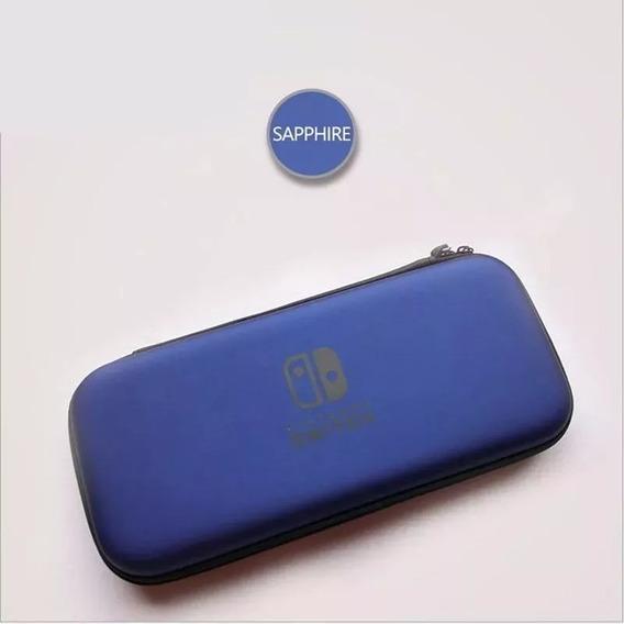 Nintendo Switch Case Bolsa Capa De Proteção Zelda - Azul