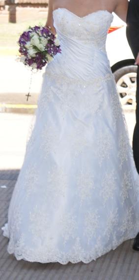 Vestido De Novia Excelente De Diseñadora Eva Novias