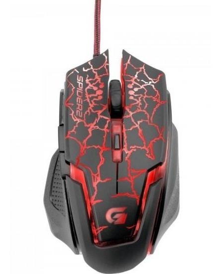 Mouse Gamer Usb 3200dpi Spider 2 Om-705 Fortrek