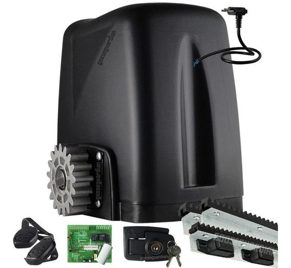 Kit Motor Portão Rossi 1 Dz Atto 3 Crem 2 Control 1 Plug