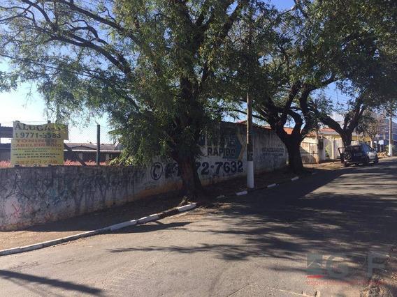 Terreno Comercial Para Locação, Vila Santana, Campinas. - Te1100