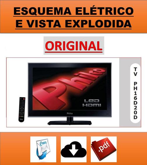 Esquema Elétrico Tv Philco Ph16d20d