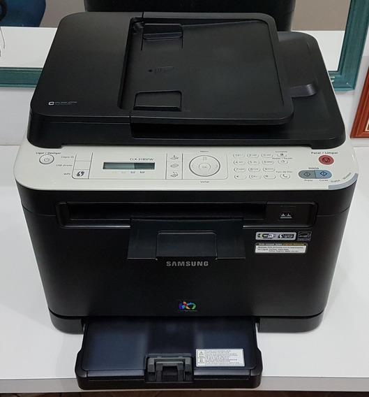 Impressora Multifuncional Laser Colorida Samsung Clx-3185fw