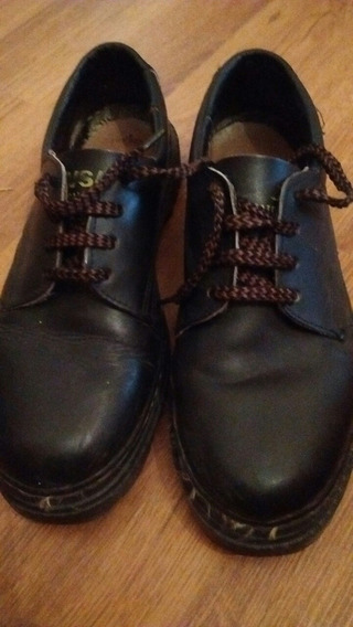 Zapatos Cuero Resistentes Trabajo Talle 42