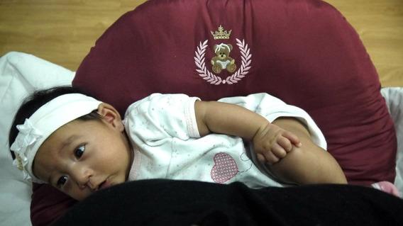 Almofada Amamentação E Descanso Para O Bebê C/ Enchimento