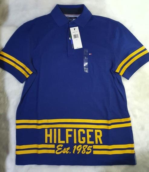 Playera Tipo Polo Marca Tommy Hilfiger