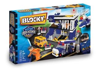 Ladrillos Blocky Super Policias Por 290 01-0672 (2544)