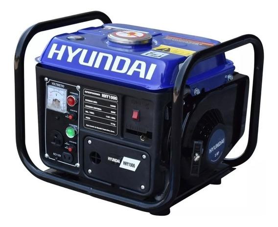 Planta De Luz Generador Hyundai 1000 Watts Hhy1000