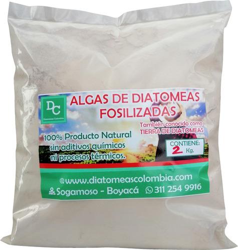 Tierra De Algas Diatomeas Diatomita 2 Kg