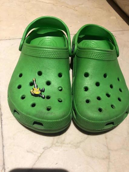 Crocs Originales Talle 33 Con Accesorio Original