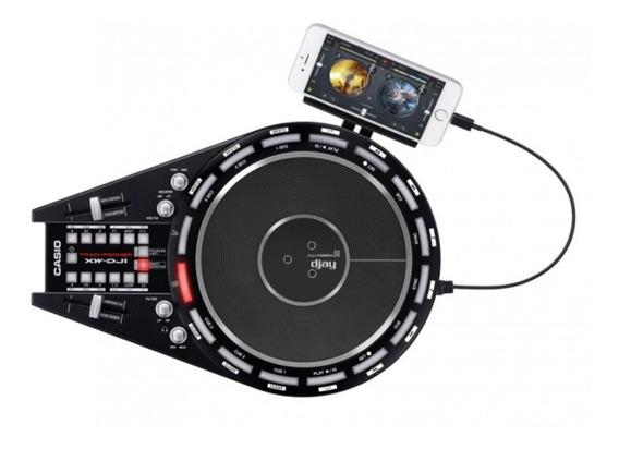 Controladora Mixer Para Dj Casio Xw Dj1 Usb 2 Canais Promo