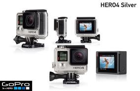 Gopro Hero 4 Silver - Semi-nova + Cartão Sd Classe 10