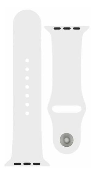 Correa Blanca Apple Watch 44m Original