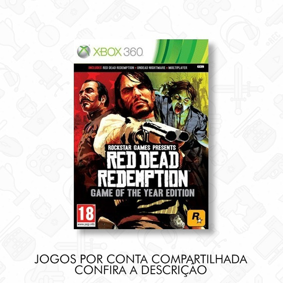 Red Dead Redemption - Mídia Digital - Xbox 360
