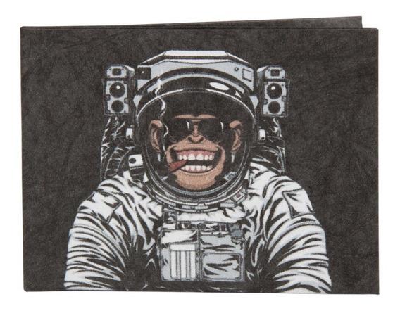 Carteira De Papel Tyvek - Ágora   Macaco Astronauta