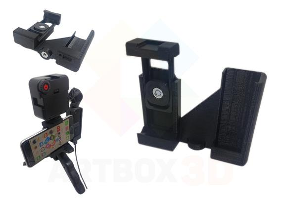 Suporte Celular Smartphone Tripe Osmo Pocket Led Microfone