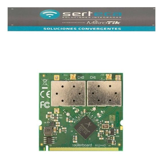 Mikrotik R52hnd Placa 2.4/5ghz Minipci 802.11a/b/g/n