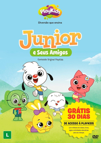 Playkids - Junior E Seus Amigos - Dvd