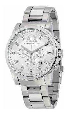 Relógio Armani Exchange Ax2505 (ax 2505 ) Prata. Original