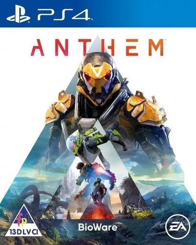 Anthem Ps4 Juego Fisico Nuevo Original Sellado Blu-ray