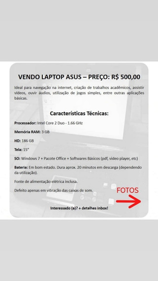 Notebook / Laptop Asus