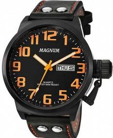Relogio Magnum Masculino Couro - Ma32952j