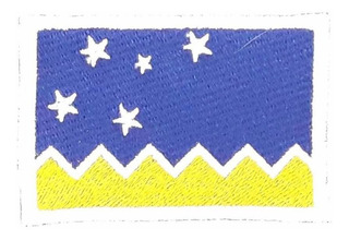 Parche Bandera Magallanes (patagonia)