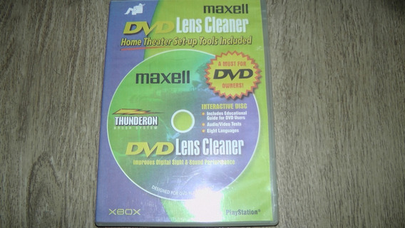 Dvd. Maxell Lens Cleaner
