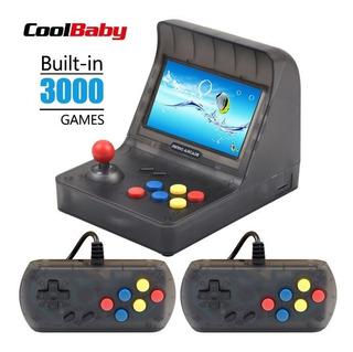 Consola Retro Arcade Portatil, 3000 Juegos Clasicos, Tv Out