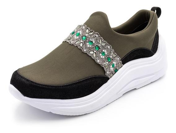 Tênis Feminino Sneakers Chunky Neo Prene Frete Grátis