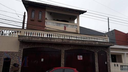 Imagem 1 de 30 de Sobrado, 4 Dormitórios - Vila Vitória/ Mauá - So0288