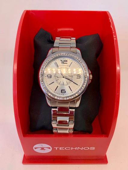 Relógio Technos Fem. Aço Inoxidável/ Original*****