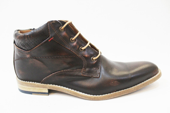 Zapato Bota Vestir Cuero Hombre Art 6706. Marca Blood South