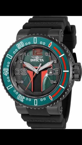 Star Wars Reloj Invicta Boba Fett