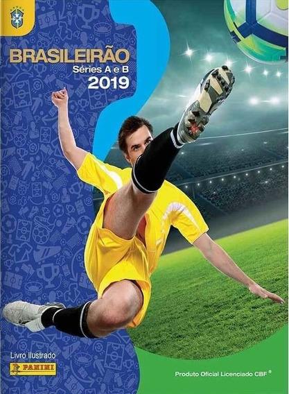 Álbum Figurinhas Campeonato Brasileiro 2019 Completo P/colar
