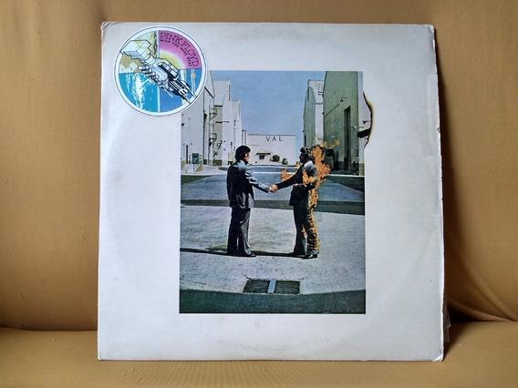 Lp Disco Vinil Pink Floyd Wish You Were Here 1975